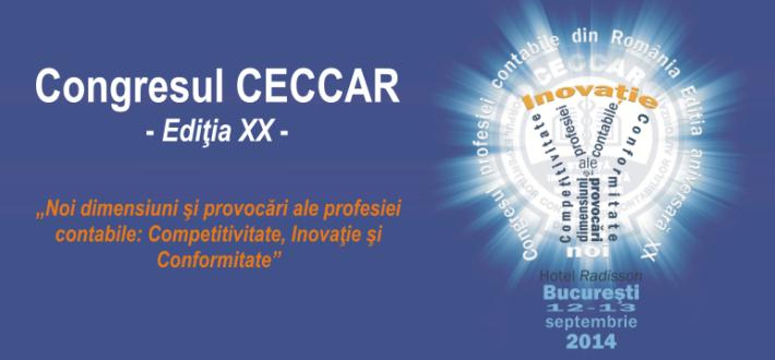 Congresul CECCAR 2014, ediţia XX