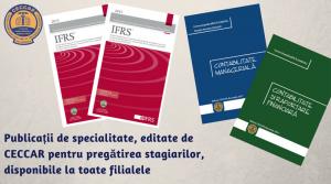 Publicații de specialitate pentru pregătirea stagiarilor