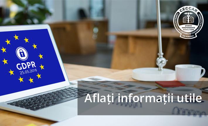 Regulamentul General privind Protecţia Datelor