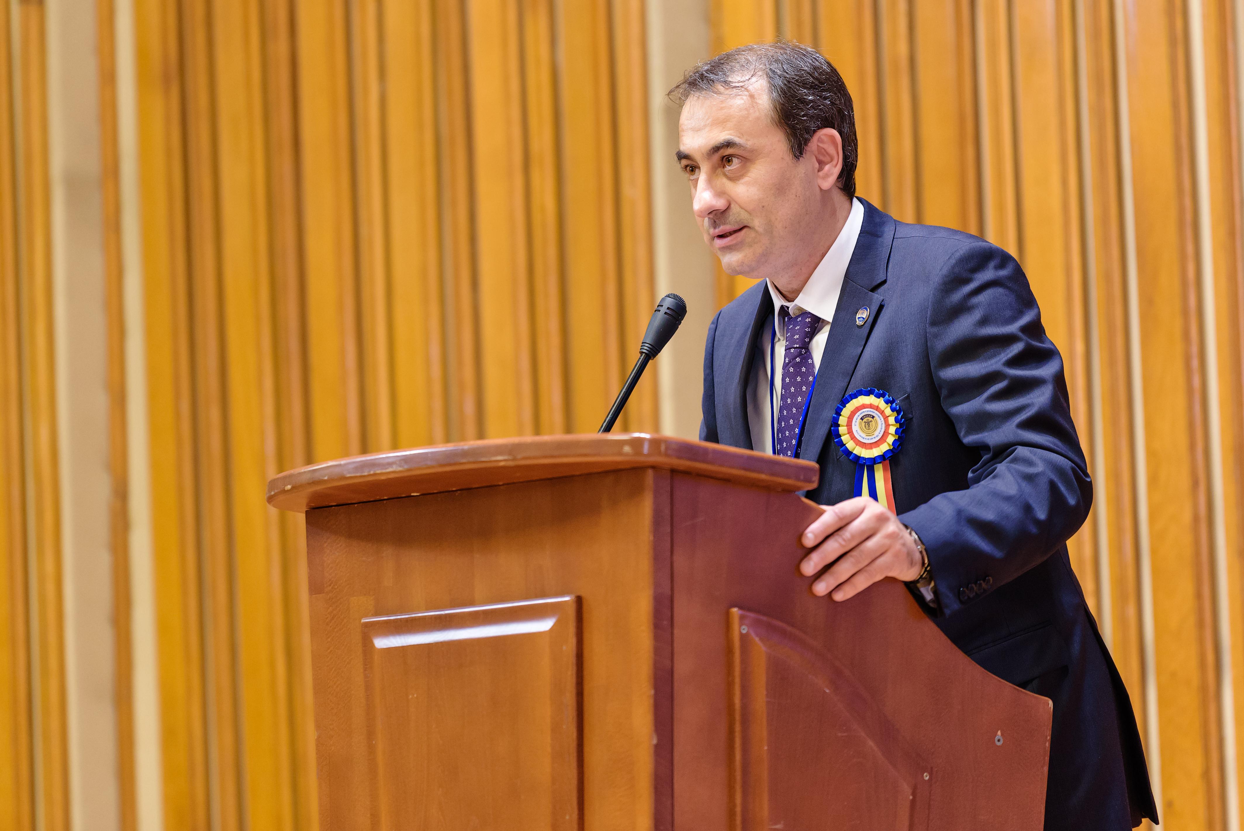 Discursul președintelui Consiliului Superior al CECCAR, prof. univ. dr. Robert-Aurelian Șova, expert contabil, din deschiderea lucrărilor Congresului profesiei contabile, ediția a XXII-a
