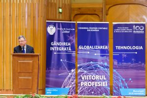 """Extras din discursul președintelui UNBR, Gheorghe Florea, susținut cu prilejul Congresului profesiei contabile: """"Este vremea serviciilor profesionale integrate. Mediul de afaceri are nevoie de expertiză combinată"""""""