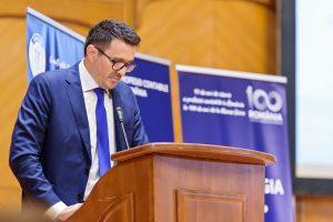 Congresul profesiei contabile 2018: Eleodor Mandreș, secretar de stat în Ministerul Finanțelor Publice, a transmis mesajul ministrului Finanțelor Publice, Eugen Orlando Teodorovici