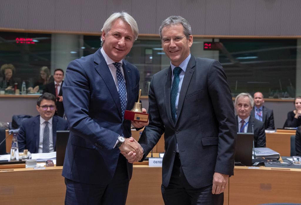 Ministrul Finanțelor Publice, Eugen Teodorovici, a preluat Președinția Consiliului pentru Afaceri Economice și Financiare al Uniunii Europene