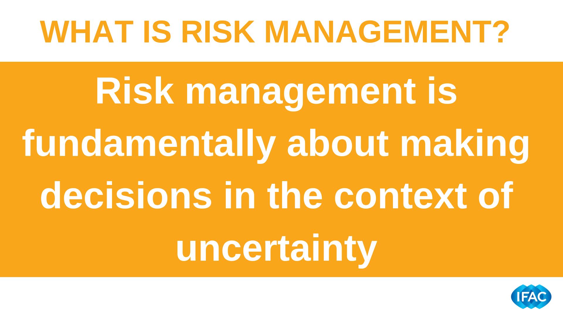IFAC: Profesioniștii contabili trebuie să profite de oportunitatea de a facilita o gestionare eficientă a riscurilor în întreprinderi