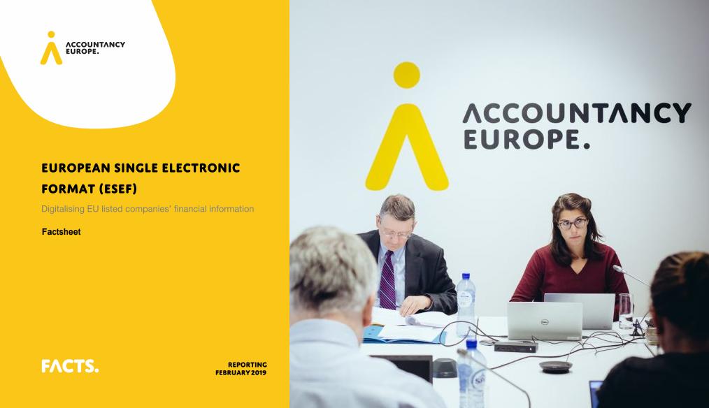Digitalizarea informațiilor financiare ale companiilor cotate: Formatul electronic unic european (ESEF)