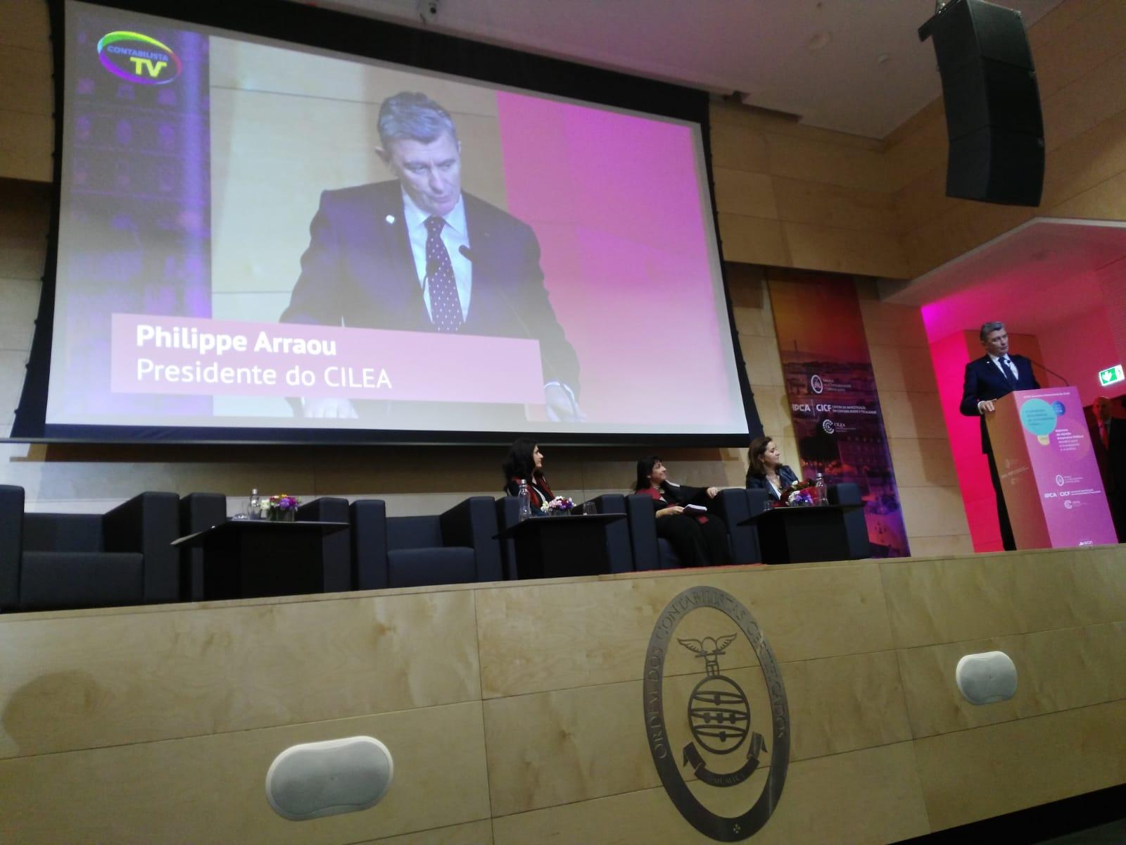 Congresul internațional al Ordinului Experților Contabililor din Portugalia și cel de-al XXXIX-lea Seminar CILEA, 14-15 martie 2019, Lisabona