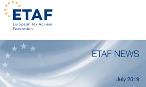 Newsletterul trimestrial ETAF: Recomandările Comisiei Europene pentru fiecare țară în domeniul dreptului profesional și legislației fiscale