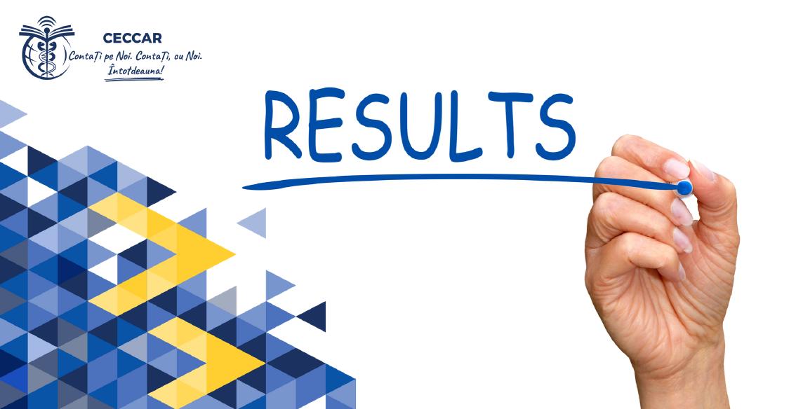 Rezultatele Examenului de acces: grad de promovare de peste 50%