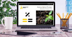 Buletinul de știri Accountancy Europe – octombrie 2019