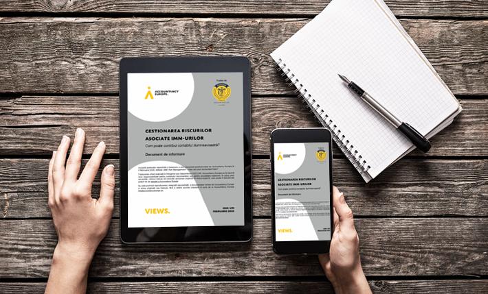 Despre gestionarea riscurilor asociate IMM-urilor, într-un document elaborat de Accountancy Europe, tradus de CECCAR