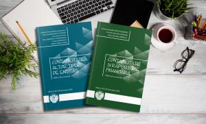 """Noi ediții ale publicațiilor dedicate stagiarilor CECCAR: """"Contabilitate și raportare financiară"""" și """"Contabilitatea altor tipuri de entități"""""""