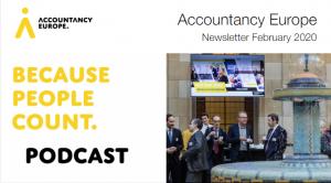 Buletinul de știri Accountancy Europe – februarie 2020