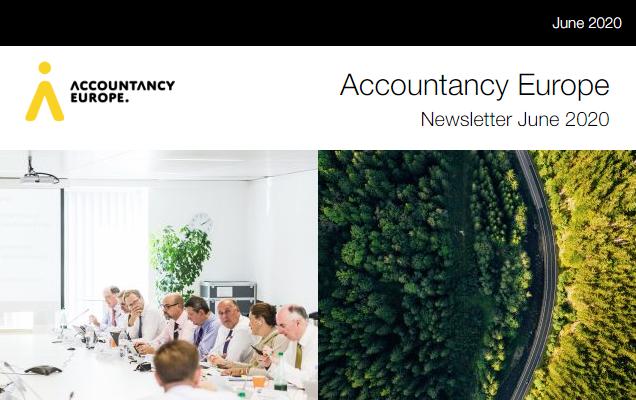 Buletinul de știri Accountancy Europe – iunie 2020