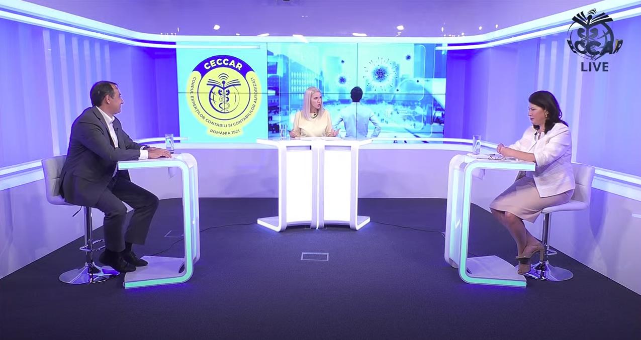"""Prima ediție a emisiunii """"Profesioniștii, în interes public"""", pe CECCAR TV"""