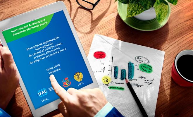 """Volumul II al """"Manualului de reglementări internaționale de control al calității, audit, revizuire, alte servicii de asigurare și servicii conexe"""", disponibil în limba română"""
