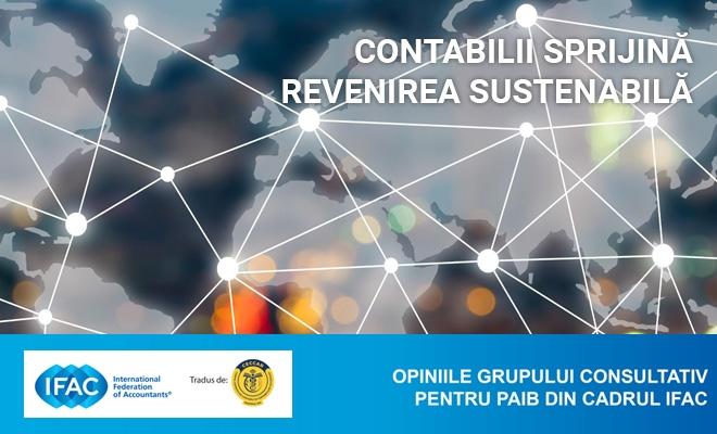 """Document IFAC: """"Contabilii sprijină revenirea sustenabilă"""""""