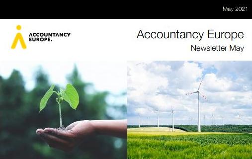 Buletinul de știri Accountancy Europe – mai 2021