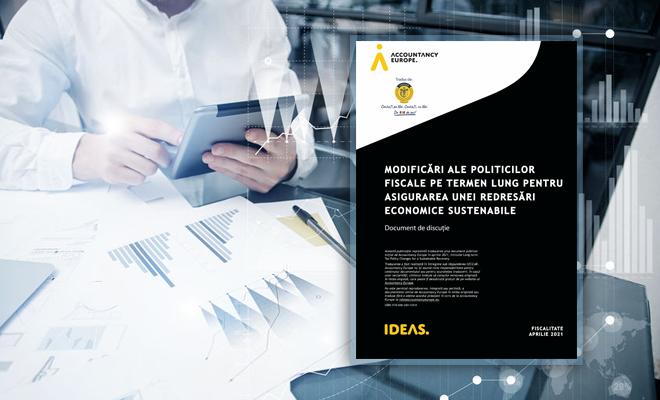 Documentul Accountancy Europe referitor la modalități de asigurare a redresării economice sustenabile, disponibil în limba română